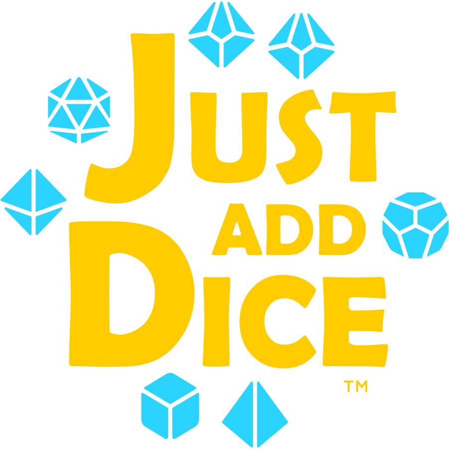 Just Add Dice Transparent Logo